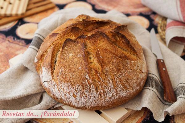Receta de pan casero con Thermomix, sencillo y buenisimo