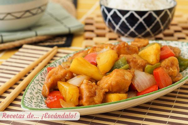 Kinų uogienės-rūgščios vištienos receptas su ananasais, labai skanus.jpg