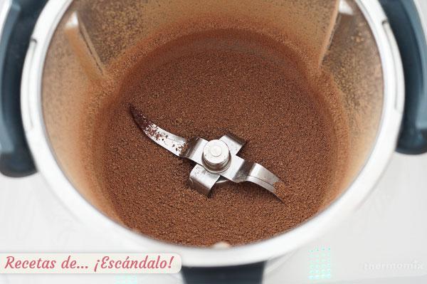 Chocolate picado thermomix