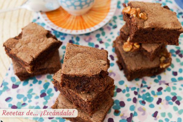 Como hacer el mejor brownie con Thermomix, con nueces y humedo, delicioso