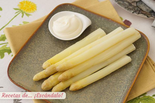 新鮮なホワイトアスパラガスの美味しい調理法