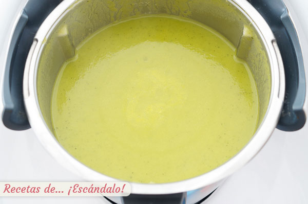 Crema de verduras casera con Thermomix