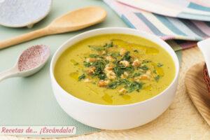 Crema de verduras o pure de verduras con thermomix, sabrosa y sencilla
