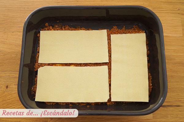 Bolonesa lasana plokštelė