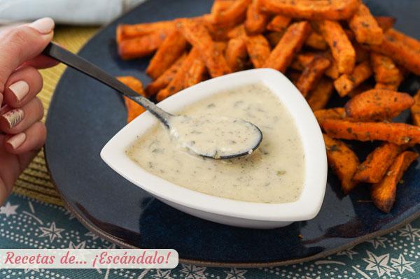 Como hacer salsa ranchera o salsa ranch, un aderezo casero delicioso