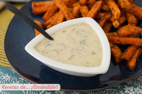Receta de salsa ranchera o salsa ranch, un aderezo casero delicioso